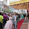 "Mark Maynard | for The Herald Bulletin<br /> Madigyn Willhoite and Logan Krugler arrive at the Paramount Theatre for Anderson High School's ""Meet Me in Wonderland"" prom."