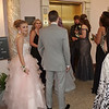 Mark Maynard | for The Herald Bulletin<br /> Anderson High School Prom goers await the elevator to transport them to the Paramount Ballroom.