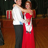 "Landon Breese and Shanna Kelly share a dance after being crowned King and Queen of the Alexandria High School ""Greatest Show on Earth"" prom."