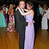 "Kenneth Welsh and Alexis Monarez dancing at the Alexandria High School ""Greatest Show on Earth"" prom."