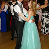 "Couples dancing at the Alexandria High School ""Greatest Show on Earth"" prom."