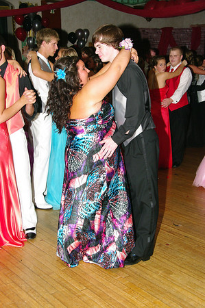 Alexandria Monroe High School 2012 prom, a Roaring Twenties evening at the Candlelight Club.