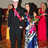 Prom Queen Kinzi Sayre and King Dustin Baldwin