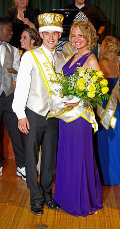 Hamilton Smith and Sammi Innis were crowned King and Queen of the Anderson High School Prom Saturday night.