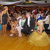 "Dancers ""get low"" at the Anderson High School Prom."