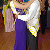 """Queen Sammi Innis dances with King Hamilton Smith at the Anderson High School """" Great Gatsby"""" Prom on May 10, 2014."""