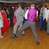 Anderson High School Prom goers cutting loose on the dance floor.