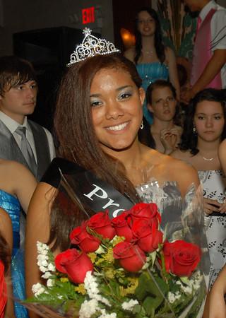 Prom queen Savanah Jones.