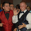 Layke Jones and Nick Anderson having fun on the dance floor.