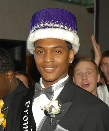 Prom King Armand Daniels.