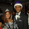 Prom Queen Savanah Jones and Prom King Armand Daniels.