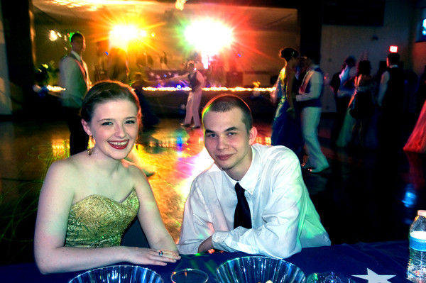 Sarah Thompson and Dylan Wable, both seniors, pose for a picture at the Anderson Preparatory Academy Prom held Saturday May 4 at the MillCreek Civic Center in Chesterfield. Photo by Richard SitlerThe Anderson Preparatory Academy Prom was held Saturday May 4 at the MillCreek Civic Center in Chesterfield. Photo by Richard Sitler