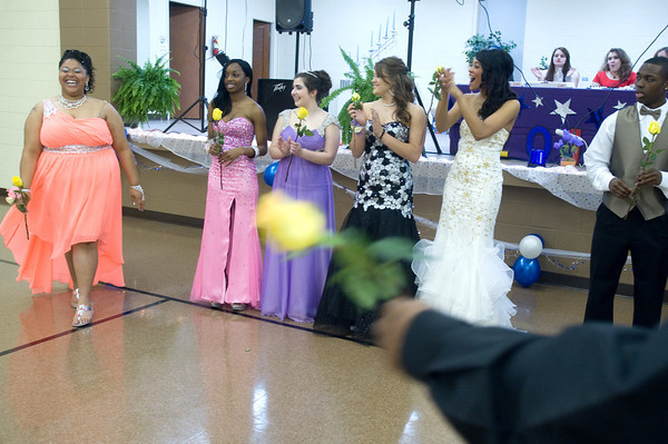 The Anderson Preparatory Academy Prom was held Saturday May 4 at the MillCreek Civic Center in Chesterfield. Photo by Richard Sitler