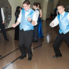 Kyler Cleckley, a sophomore, and Jacob Kovacs, a junior, get down on the dance floor.The Anderson Preparatory Academy Prom was held Saturday May 4 at the MillCreek Civic Center in Chesterfield. Photo by Richard Sitler