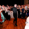 Don Knight | The Herald Bulletin<br /> Daleville students cheer on their classmate during Daleville's prom on Saturday.