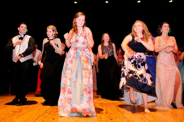 Don Knight   The Herald Bulletin<br /> Daleville held their prom at the Paramount on Saturday.