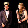Don Knight | The Herald Bulletin<br /> Kyle Eber and Emily Kardatzke were named King and Queen of Daleville's prom on Saturday.
