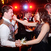 Don Knight | The Herald Bulletin<br /> Students dance on stage at the Paramount during Daleville's prom on Saturday.