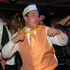 Denver Mays donned a Steak and shake hat at the Elwood prom.