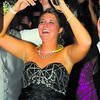 Kelsey Crabtree dances at the Elwood Prom. Crabtree was a Queen candidate at the prom.
