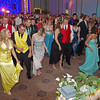 """Elwood High Schoolers dancing the night away at their """"Enchanted Garden"""" themed prom on May 3, 2014."""