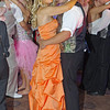 """Elwood High School students Kenzie Gustin and Denver Mays dance at their """"Enchanted Garden"""" themed Prom."""