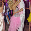 """Grace Arbuckle and Griffin Hughes sharing a dance during the Elwood High School """"Enchanted Garden"""" Prom."""