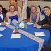 "Nickolas Warner, Haeley Moody, Maddi Runyan and Trevor Holliday enjoying an evening in the ""Enchanted Garden"" at the 2014 Elwood HIgh School Prom."