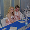 """Elwood High School Prom attendees Hailey Howell and Gabe Howard enjoying the evening in the """"Enchanted Garden."""""""