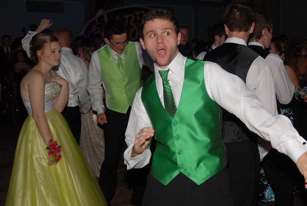 Josh Reed shows his moves on the dance floor.