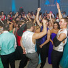 Students dancing to the tunes during the Frankton High School Prom on Saturday night.