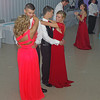 Couples sharing a slow dance during the Frankton High School Prom held at The Factory on Saturday night.
