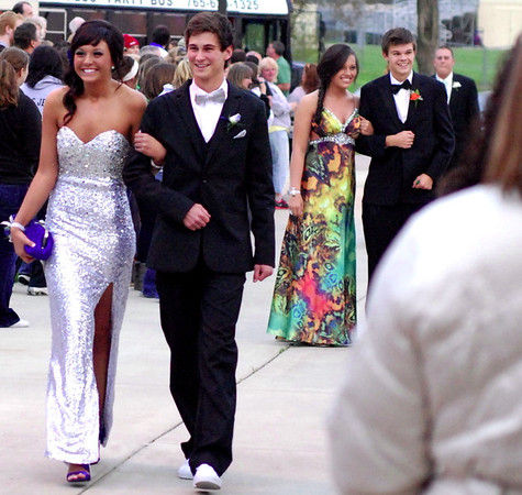 """Lapel High School celebrated it's 2012 prom Saturday evening in the school's commons area.  This year's theme was """"Masquerade Ball."""""""