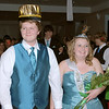 Cody Rayn and Miranda Minnick were named Prince and Princess at the prom