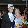 Prom King and Queen Adam Watters and Sloan Griggs.