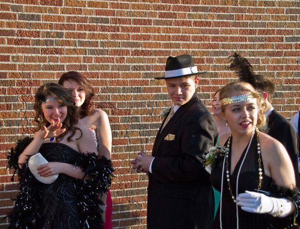 The Roaring 20s APA Prom.