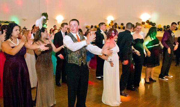 Bob Hickey | For The Herald Bulletin<br /> The Roaring 20s APA Prom.