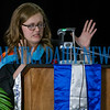 TeacherCaelyn Boze was chosen by the students to give the closing remarks for the graduation ceremony, giving them three things to remember. Fran Ruchalski/Palatka Daily News
