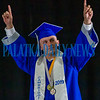 At every graduation there's always that one student. And at the Q. I. Roberts graduation ceremony, that student (the only one) was William Owens. Fran Ruchalski/Palatka Daily News