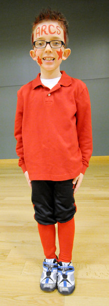 RAVISHING RED DAY AT ASSUMPTION  SCHOOL, GALLOWAY NJ. 02/01/13