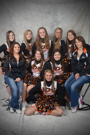 RCHS Cheer Leaders BB Wrestling