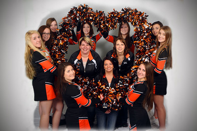 RCHS Cheerleaders BB/W 2015