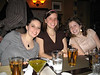Anna, Kim, Micah...the girls were on one side, the boys on the other.