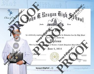 2014 Reagan Keedjit Diplom Proof