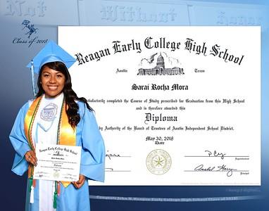 2018 Reagan Keedjit Diploma