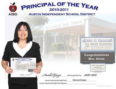 AISD Principal of the Year 2011