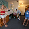 Brianna Langlois, 19, of Westford, with her parents Walter and Susan Langlois, is in UML and MCC's Reserve Placement Progam, spending her first semester at MCC, but living at the ICC dorm before becoming a UML student second semester. (SUN/Julia Malakie)