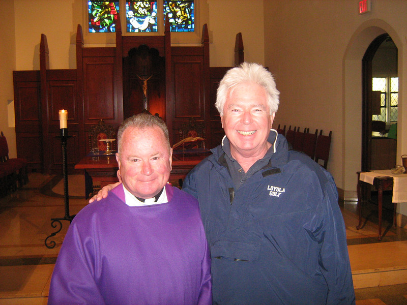 Retreatants and leaders were fortunate to have Fr. Stephen Barber, S.J. do the liturgy (with new Roman Missal) as final activity of Junior Leadership retreat, Friday, 12/2/2011