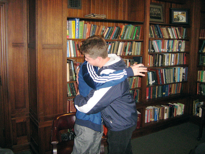 Declan and Nick had moment of affirmation.