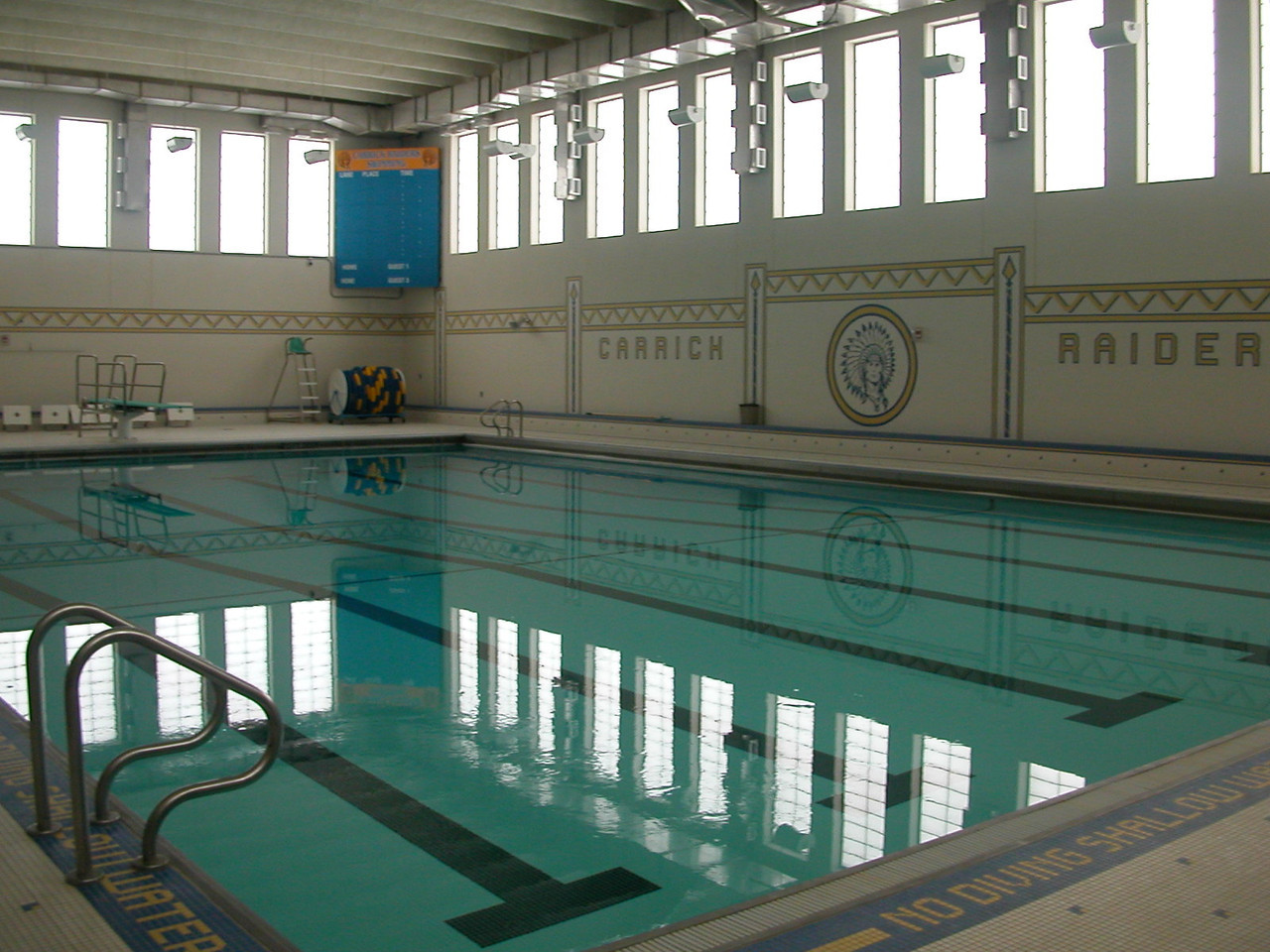 The new pool.
